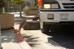 Parking Lot Sweeping by Universal Site Services Bay Area