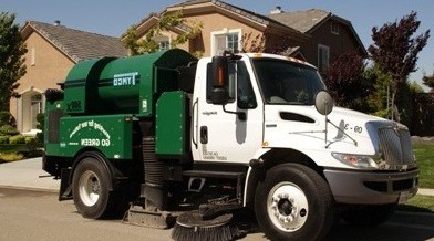 Large parking lot sweeping in san jose done with reliability