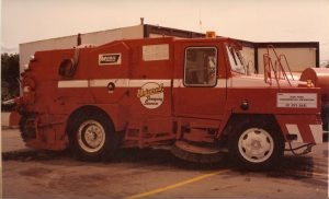 Old Sweeper Truck