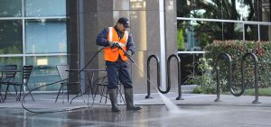 USS providing professional commercial pressure washing in Sylmar